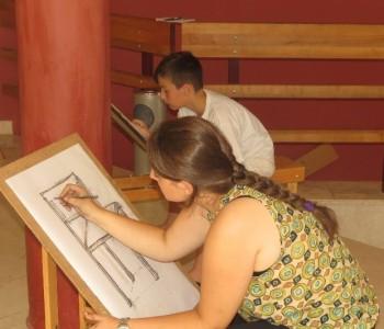 U Prozoru započela Škola crtanja i slikanja