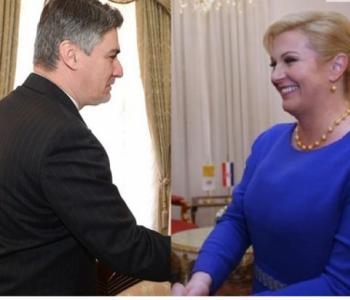 Kolinda i Milanović prvi se put sastaju u uredu na Pantovčaku