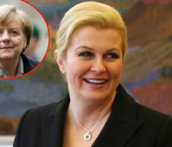 Kolinda u Berlinu: Prvo sastanak s Gauckom i Merkel, onda predavanje na Europskoj akademiji
