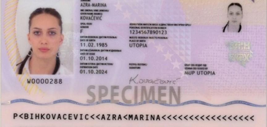 Počelo izdavanje putovnica treće generacije