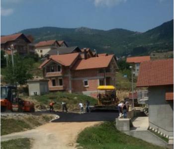 Započelo asfaltiranje Splitske ulice