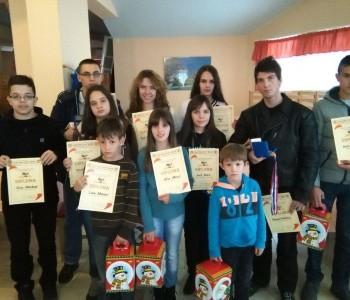 Sara i Mihael pobjednici Božićnog šahovskog turnira RAMA OPEN 2014