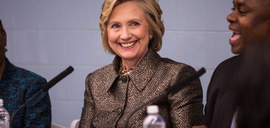Clinton u utrci za Bijelu kuću, borit će se za obične Amerikance