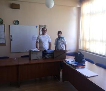 Predstavnici  Crvenog križa Prozor-Rama posjetili  OŠ Veselka Tenžere Uzdol