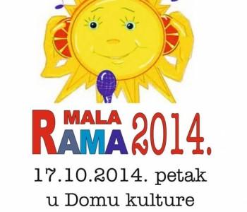 Poziv na Dječji festival Mala Rama 2014.