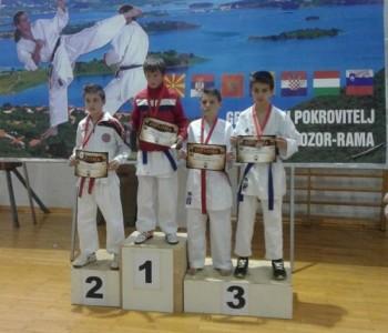 """Održan  5. Međunarodni karate turnir """"RAMA OPEN 2014."""""""