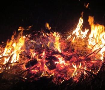 Foto/ Paljenje Ivandanskih svitnjaka u Rami