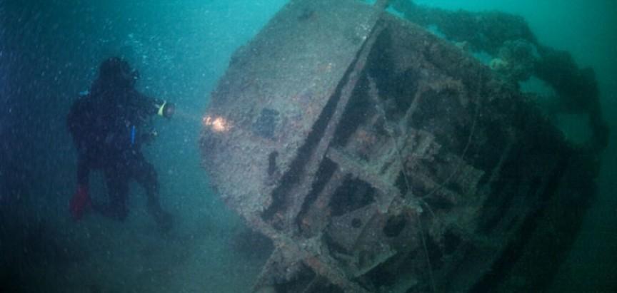 U Šibenskom kanalu pronađen je njemački brod potopljen 1944. godine