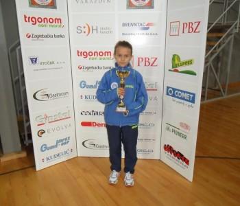 Ramljaci svugdje uspješni: Antonela Papak pobjednica stolnoteniskog turnira u Varaždinu