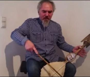 Pero Rotim iz Rame na guslama opjevao Kolindu, prvu hrvatsku predsjednicu