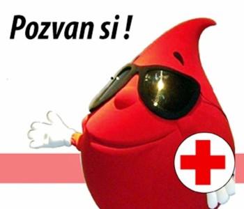 Najavljujemo Akciju darivanja krvi : Daruj krv – najdragocjeniji poklon