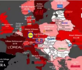Saznajte tko su najbogatiji ljudi u Europi