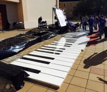 Frama Mostar napravila najveće klavijature na svijetu