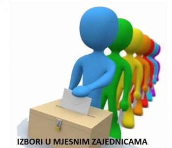 Obavijest o zakazanim sastancima za izbore u mjesnim zajednicama