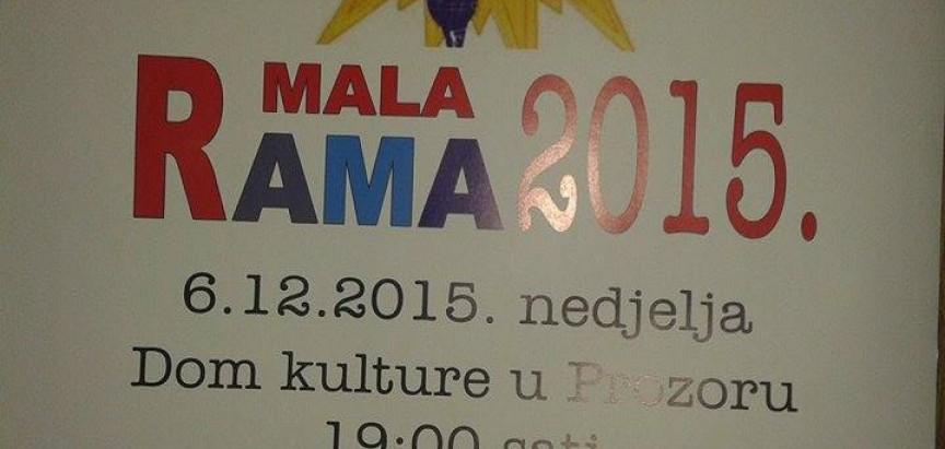 NAJAVA: Dječji festival Mala Rama 2015.