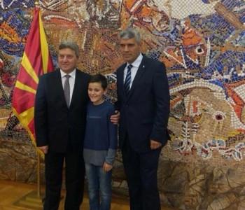 'Ramskog slavuja' Marka Bošnjaka primio i makedonski predsjednik