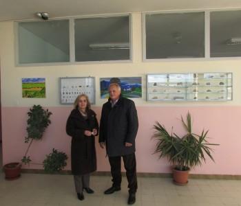 Načelnik Ivančević posjetio Srednju školu Prozor
