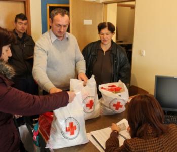 Crveni križ Prozor-Rama započinje podjelu paketa potrebnima