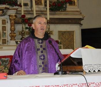 Božićna čestitka fra Mate Topića, dekana Ramskog dekanata