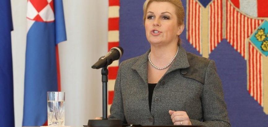 Hrvatska predsjednica Grabar Kitarović stvarno je zabrinuta za BiH
