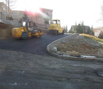 Nastavak asfaltiranja ulice Kralja Tomislava
