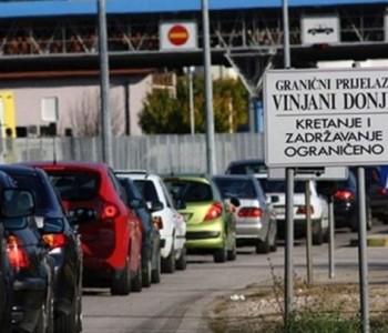 Granični prijelaz Vinjani Donji zatvara se na tri mjeseca