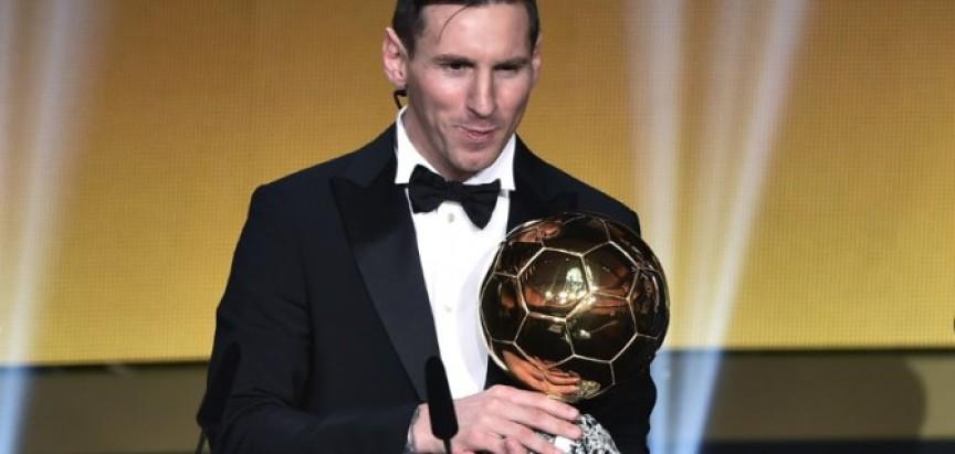 NAJBOLJI NA SVIJETU: Messiju peta Zlatna lopta, Modrić u momčadi godine