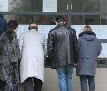 3,8 posto više nezaposlenih nego prošle godine