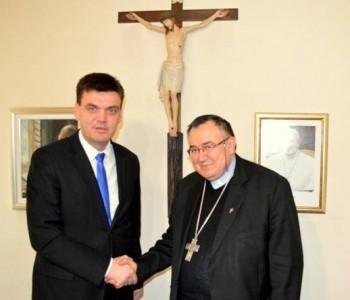 Cvitanović i kardinal Puljić: Narod je važniji od političkih stranaka