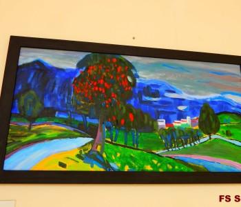 FOTO VIJEST: Izložba likovnih radova u Srednjoj školi Prozor