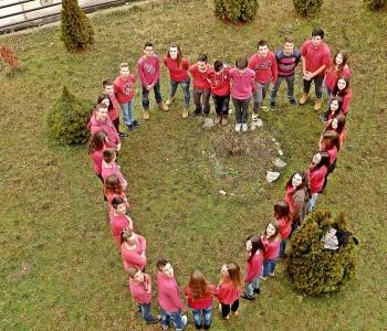 Osnovci iz Ripaca na svoj način obilježili Valentinovo