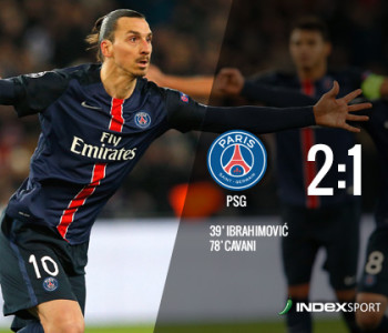 Ibrahimović i Cavani srušili Chelsea