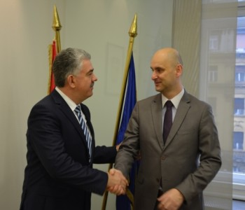 Predsjednik Herceg s ministrom Tolušićem