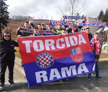 Ramska Torcida slavi 105. rođendan Hajduka
