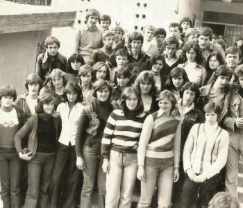 Poziv na proslavu 35. obljetnice mature: generacija učenika 1980/81.