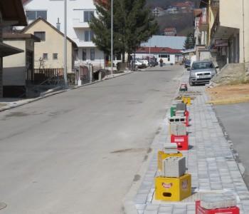 Nastavljaju se radovi u gradu Prozoru