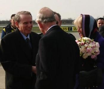 Princ Charles sa suprugom Camillom na Pantovčaku