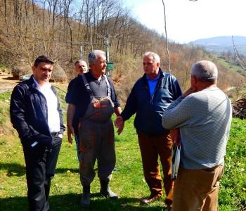 Načelnik Ivančević obišao radove u Perićima