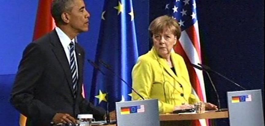 Njemačka dočekala Obamu uz najveće mjere sigurnosti