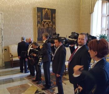 Premijer Orešković u posjetu Vatikanu