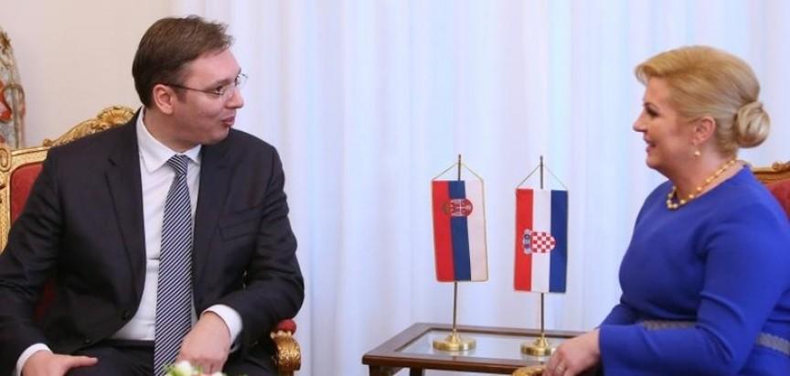 Ipak se sastali vrlo kratko Kolinda i Vučić