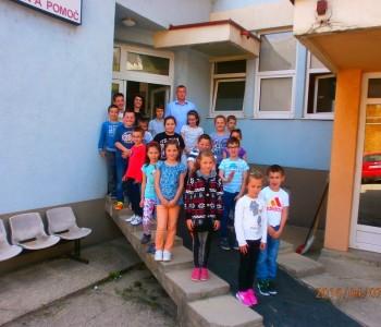 Svjetski dan zdravlja- Učenici Područne škole Ustirama posjetili Dom zdravlja u Prozoru