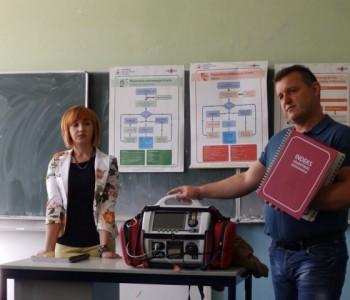 OŠ Ripci: Održano edukativno predavanje iz prve i hitne pomoći