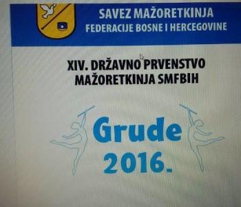 Ramske mažoretkinje sudjeluju na  Državnom prvenstvu u Grudama