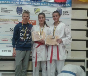 Karatisti Anita Tadić, Monika Rajič i Josip Tadić sudjelovat će na Europskom prvenstvu