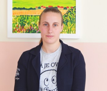 Ivona Kapčević učenica generacije Srednje škole Prozor
