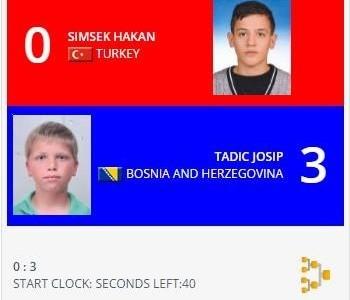 Josip Tadić osvojio broncu na prvenstvu Balkana u karateu