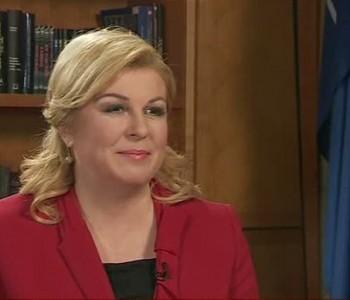 Predsjednica: Nestabilna BiH najveća sigurnosna prijetnja Hrvatskoj
