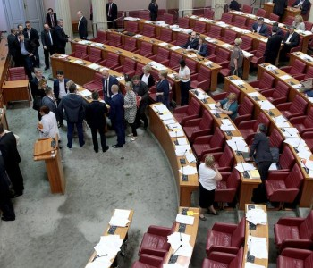 Sabor je raspušten, odluka stupa na snagu 15. srpnja