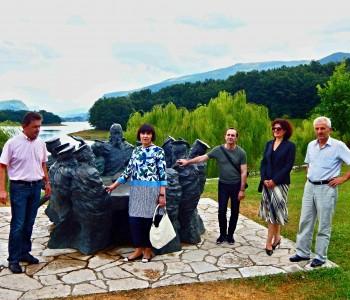 Predstavnici ureda za  Hrvate izvan Hrvatske boravili u Rami